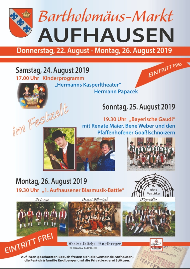 2019_Bartholomä_Markt_Plakat_Rahmenprogramm